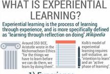 """Experiential Learning / Experiential learning is the process of learning through experience, and is more specifically defined as """"learning through reflection on doing"""". It underpins much of our training as the most effective means of retaining what is learned."""