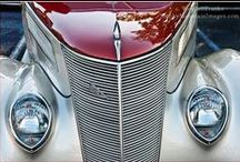 Front-Grill / Front view of tractor-track-hotrod-ratrod