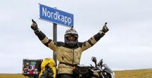 NORDKAPP / Motorcyclists in Nordkapp