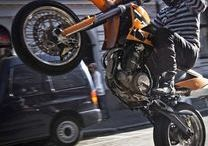 MOTORCYCLE- WHEELIE
