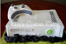 Video Game Cakes! / http://gametimeexpress.com/