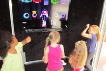 Kids Birthday Party Ideas - Mobile Video Game Truck Party! / Our luxury, limo-style theater on wheels feature 7 HUGE High-Definition Televisions! We feature surround sound, Wii, Wii U, PS3 & XBox games! This is multiplayer gaming excitement! Our Stadium-Style Seating allows the whole crowd to enjoy the action!