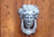 Tuscany Door Knockers  / Tuscan door knobs come in all varieties!  The architecture of Tuscany is amazing.  We marvel at architectural design that has evolved over hundreds of years during our Tuscany workshops and Tuscany tours.