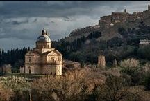 Montepulciano, Tuscany / This is one of Tuscany's highest hill towns, its walls and fortifications offering broad views over Umbria and southern Tuscany.