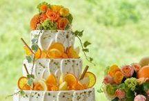 Wedding Cake / ノバレーゼが提案するオリジナルのウエディングケーキ  http://dress.novarese.jp