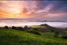 Val d' Orcia, Toscana / This is the home of Tuscan Muse, the most beautiful area in all of Tuscany in our opinion!