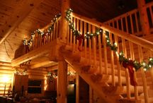 Log Home Christmas  / by Jenna T.