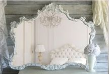 French, Ornate & Modern Mirrors / http://www.la-maison-chic.co.uk/Category/french-ornate-venetian-rococo-mirrors