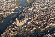 Atmosph'Air montgolfières occitanes Albi / A la découverte du patrimoine Tarn vu du ciel. Baptêmes en montgolfière Albi - Cordes sur Ciel - Gaillac - Lautrec - Lavaur...