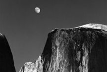 [A] Ansel Adams [1902-1984] / Ansel Easton Adams was an American photographer and environmentalist. He is best known for his black-and-white landscape photographs, particularly of the American West.
