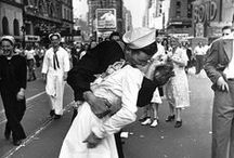 [E] Alfred Eisenstaedt [1898-1995] / Alfred Eisenstaedt was a German photographer and photojournalist. He emigrated to the United States in 1935 where he worked as a staff photographer for Life magazine from 1936 to 1972. His photos of news events and celebrities, appeared on 90 Life covers. His best known photo is the photograph of the V-J Day celebration in Times Square.