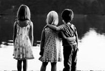 b&w | children / black & white photographs of children.