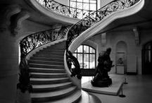 b&w | stairs / stairs can create some interesting photographs