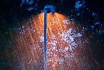 colour │rain / Color photographs of rain.
