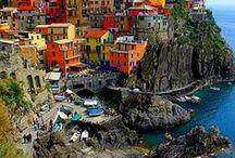 colour | coastal village
