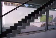 Concrete stairs DNA DESIGN - Czech Republic / http://www.dnadesign.cz/