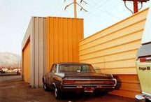 [E] William Eggleston [1939 - ] / William Eggleston is an American photographer. He is widely credited with increasing recognition for color photography as a legitimate artistic medium.