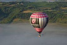 Atmosph'Air montgolfières partenaire de Vinovalie / Montgolfière publicitaire Vinovalie - Tarn - Haute Garonne - Lot