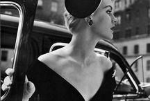 b&w | vintage editorial / black & white vintage fashion photography
