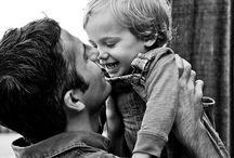 b&w | fatherhood