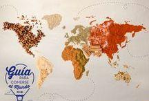 Guía para comerse el mundo / Si cada persona es un mundo, tus gustos son planetas que giran en torno a él. ¡Viajemos por ellos!