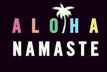 A L O H A / All things from yogi peace club we love!!!!