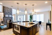 Dream Kitchen / A board of pictures of luxurious & beautiful Kitchens' from people's home all around the world. (These photos are not done/taken by Characters Restaurant, repin with us!)