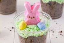 Easter Treats / A board with pictures of Easter snacks/treats, deserts & a link to  their recipes! (These pictures are not done/taken by Characters, re-pin with us!)