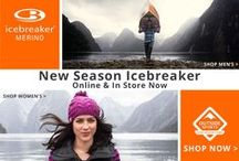 New Season Icebreaker Favourites / New Season Icebreaker is here! So we, at Outside Sports have picked out a few favorites to keep you stylish, warm and stink fee this winter 2015. Great new colour and design will have heads turning.