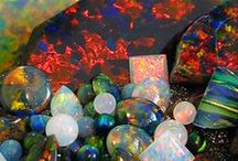 …… Opal …… / Mysterious opals contain the wonders of the skies...