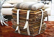 DIY cajas de cartón / Tablero para inspirarnos con esas cajas de carton vacías que gritan DIY! ;)