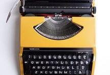 Maquinillas de escribir ♥