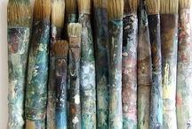 artist's studio and...