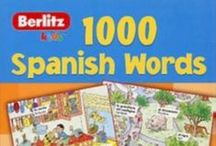 Spanish For kids / This is an ideal learning resource for young learners and fun way learn a new vocabulary. It gives support to teachers who may be faced with the challenge of teaching Spanish for the first time. Make a little linguist in you :) happy journey