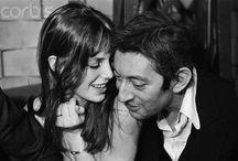 Jane Birkin et Serge Gainsbourg / by Laura