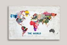 maps + globes / A board designed to celebrate my love for maps and globes!