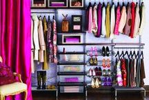 closet + vanity / Inspiration for making your closet and vanity look beautiful.