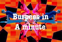 BURPEES / How many burpees can you do in a minute? Help me to create a virtual fitness space. Simply take a picture of you performing the exercises and upload it to the boards. Whether you participate in one or all of the categories. Give it a go and try your best. Don't just sit, lie and stand around all day, work your body and mind and you will feel better for it. Compete in a  fitness competition. Do it for you. Get together with friends and do it together.
