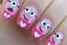 Nail Art / Nail Art is all about making a statement or just having fun with your nails.