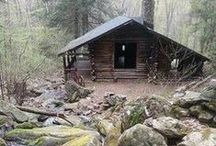 Cabin * Nature * Sanctuary /  a simple quiet life, nature,  and a best friend / by ❀ Kristin ❀