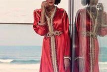 Caftans - inspiration / De jolis caftans marocains repérés sur internet, qui nous inspirent au quotidien !