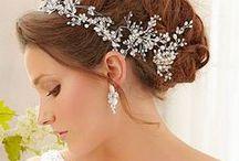 Magnifiques coiffures de mariée / Les plus belles coiffures et chignons pour mariée