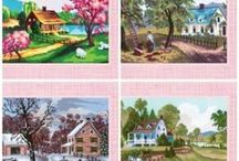 Landscapes Needlepoint Kits - Needleart World / Intermediate needle art kits, 8 x 13' designs offering the next level of design sophistication. More color and detail.