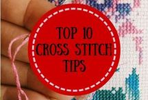 Cross Stitch : Tips / tips and tips for doing counted cross stitch - and no count cross stitch
