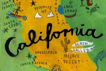 California Love / SMA's owner is a California native. This board is a collection of arts, crafts and food products that give a nod to the golden state.