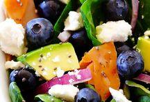 C. E Salads