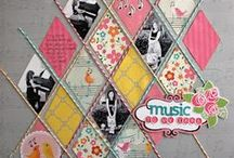 Scrapbook / Scrapbook pages and layouts