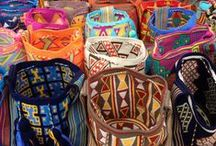 ❤ Mochila bags / Authentic mochila bags from Colombia.