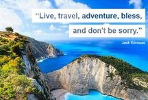 ❤  Travel quotes / Inspiring travel quotes