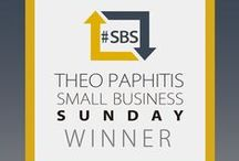 Theo Paphitis SBS Winners / We're honoured to have won Theo Paphitis' SBS competition on Twitter! This board showcases all the great products and services that our fellow SBS winners offer